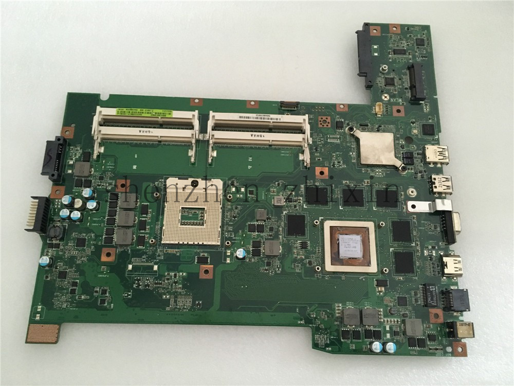 [해외]아수스 G74SX 노트북 마더 보드 3D 커넥터 4 RAM 슬롯 GTX560M PGA989 REV.2.0 전체 테스트/For Asus G74SX Laptop motherboard3D connector 4 RAM slot GTX560M PGA989 REV.2.0