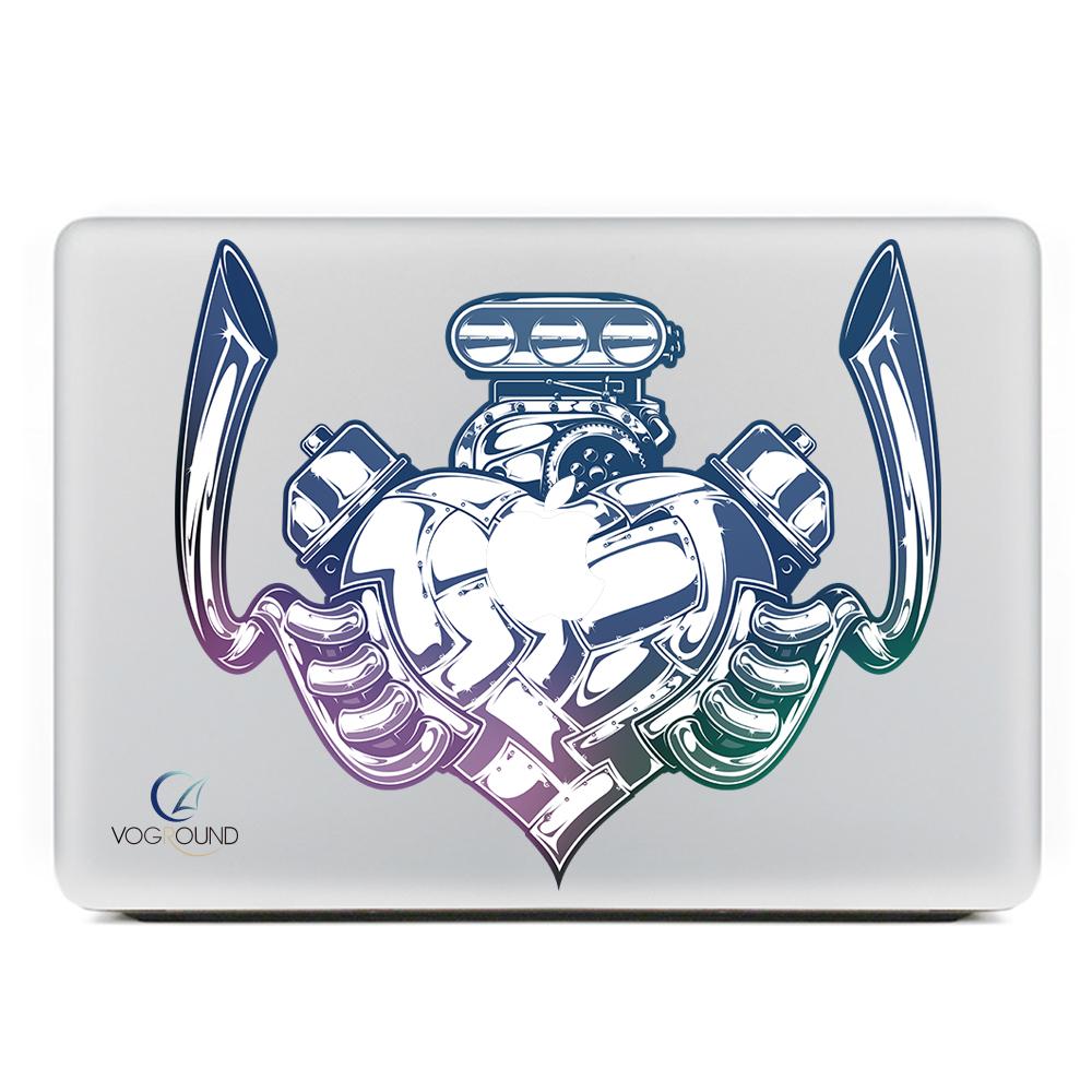 [해외]?Apple macbook Air Pro Retina 11 12 13 15 Mac 용 노트북 13.3 인치 컬러 심장 박동 엔진 패턴 스티커 데칼 02/ For Apple macbook Air Pro Retina 11 12 13 15 laptop For Mac