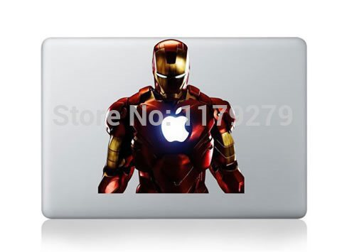 [해외]새로운 Hot 슈퍼 남자 Macbook Decals 스킨 스티커 Mac Pro Decal Mac Air for Apple Macbook 11 13 15 인치 MEAFO/NEW hot Super man for Macbook Decals Skin Stickers M