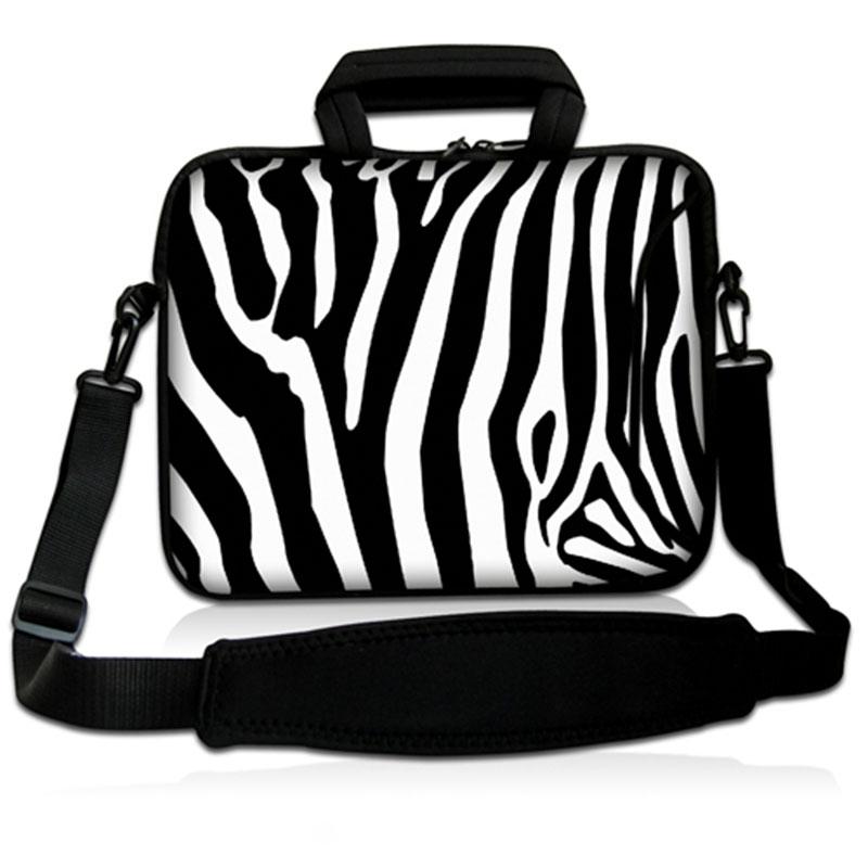 [해외]지브라 14 & 14.1 & 14.2 인치 노트북 노트북 슬리브 가방 남성 여성 커버 케이스 서류 가방 어깨 메신저 백 SS14-12/Zebra 14& 14.1& 14.2& inch Notebook Laptop Sleeve Bag for Men W