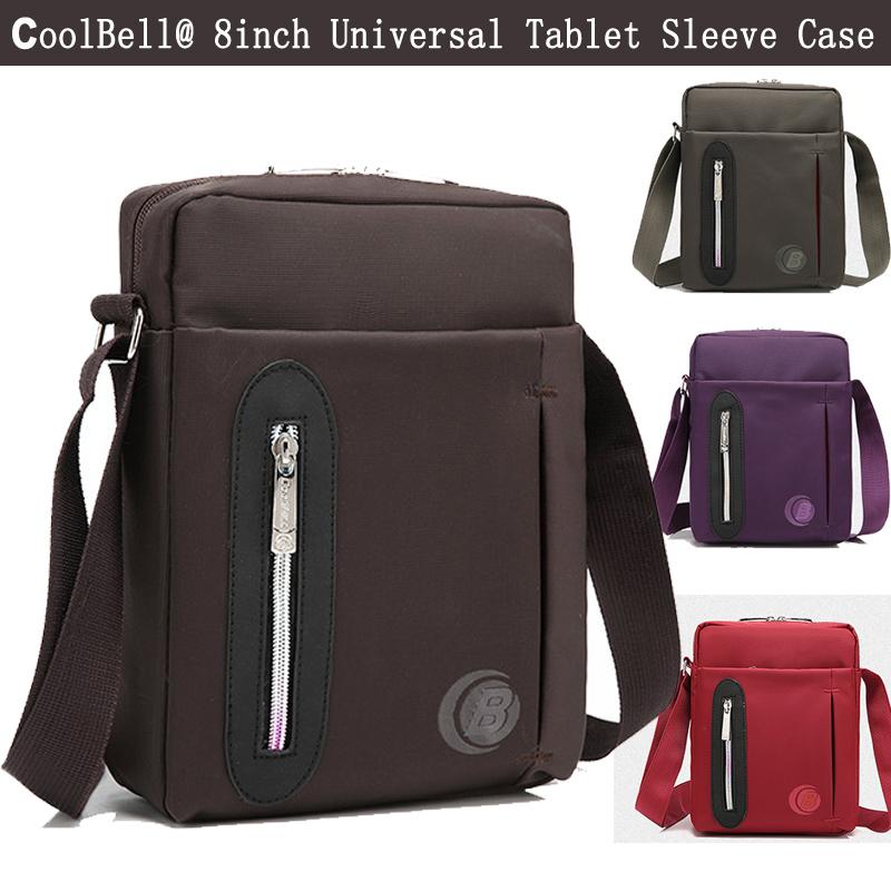 [해외]iPad Mini 4 2 3 케이스 용 소형 Crossbody 슬링 가방 Universal 7.9, 8 인치 태블릿 노트북 어깨 메신저 백 파우치 슬리브 커버/Small Crossbody Sling Bag for iPad Mini 4 2 3 Case Univer
