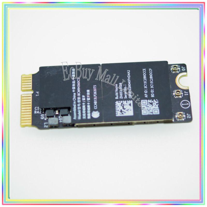 [해외]맥북 레티나 A1398 A1502 A1425 와이파이 카드 WLAN 블루투스를 들어 BCM94360CSAX 4.0 브로드 컴의 802.11ac/BCM94360CSAX For Macbook retina A1398 A1502 A1425 Wifi card WLAN B
