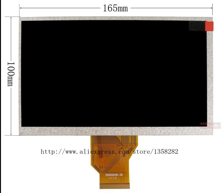 [해외]HENRYLIAN 새로운 7 인치 TFT AT070TN90 화면 AT070TN90 V.1 800 * 480 해상도 두께 3mm 자동차 DVD 화면/HENRYLIAN NEW 7inch TFT AT070TN90  screen AT070TN90 V.1 800*480