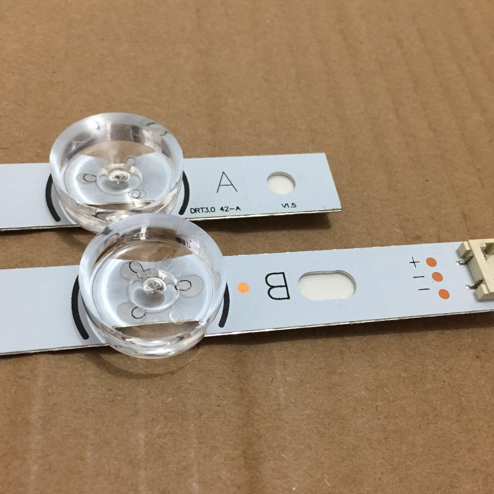 [해외]LG INNOTEK DRT 3.0 42 & -A / B 유형의 새로운 PCS (1 * A, 1 * B) LED 스트립 교체 6916L 1709B 1710B 1957E 1956E 6916L-1956A/2 PCS(1*A,1*B) LED strips subst