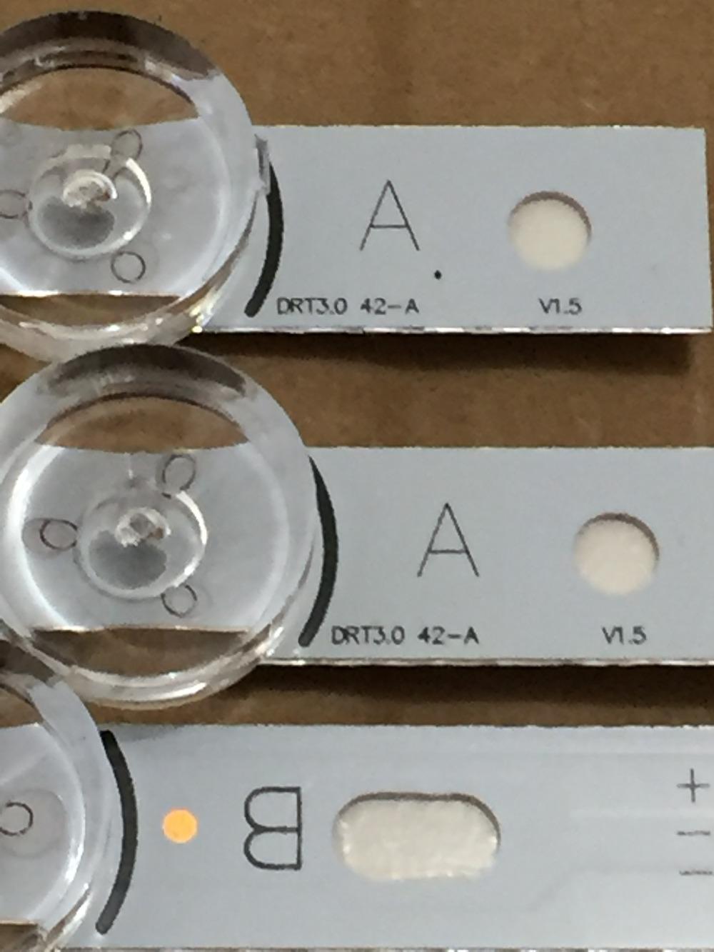 [해외]100 % 새로운 LED 백라이트 스트립 8 led LG 42 인치 TV에 대 한 INNOTEK DRT 3.0 42 & 6916L 1709B 1710B 1957E 1956E 6916L-1956A 6916L-1957A/100% NEW LED Backligh