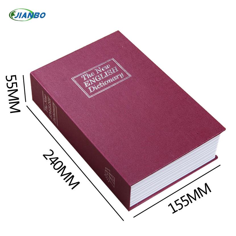 [해외]공장 직접 시뮬레이션 영어 사전 안전한 미니 도서 돈 상자 저장 상자 독창성 금고 240 * 155 * 55/Factory direct simulation English dictionary safe mini-books money box storage box cr