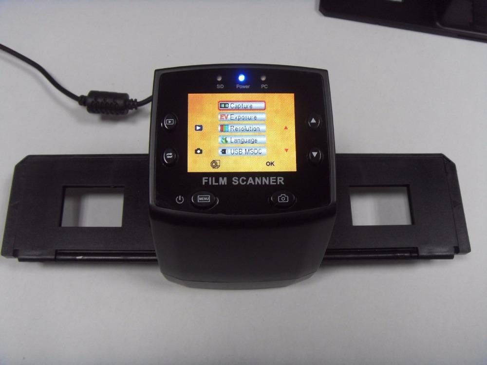 [해외]?5MP 35mm 휴대용 SD 카드 필름 스캔 사진 스캐너 네거티브 필름 스캐너 USB MSDC M125/ 5MP 35mm Portable SD card Film scan Photo Scanners Negative Film Scanner USB MSDC  M12
