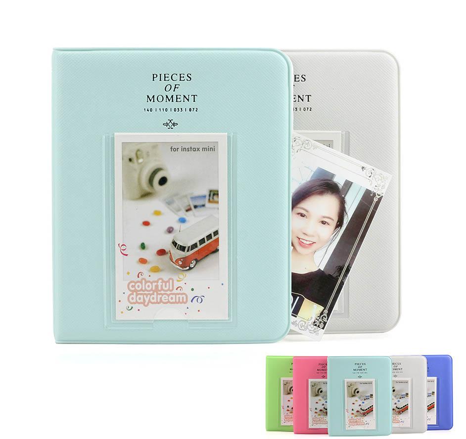 [해외]3 인치 64 포켓 Fujifilm Instax Mini 8 필름 Instax Mini 9 7s 70 25 50s 90 순간 카드 사진 앨범 앨범/3 Inch 64 Pockets Fujifilm Instax Mini 8 Films Instax Mini 9 7s