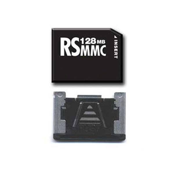 [해외]13pin 멀티미디어 카드 128메가바이트 메모리 카드 RS-MMC 카드/13pin MultiMedia Card 128MB Memory Card RS-MMC Card