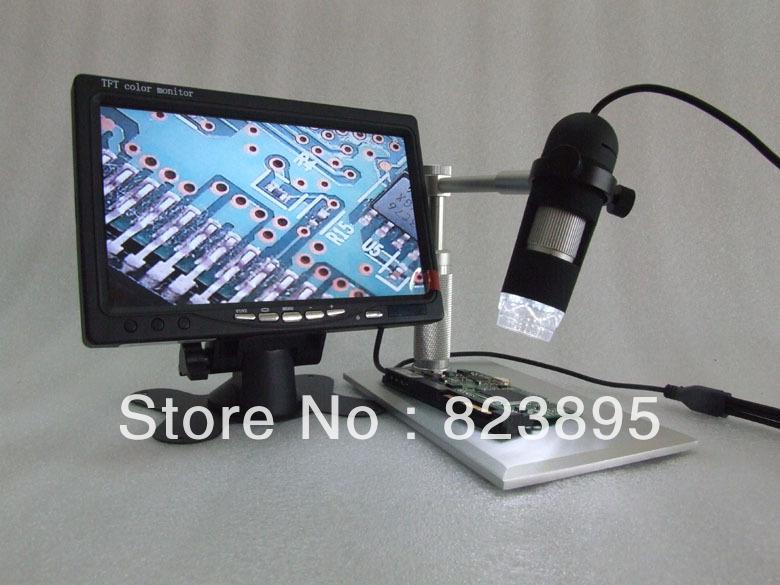 알루미늄 합금 브래킷 av 400x hd digtal 현미경, av 핸드 헬드 내시경 카메라, tv, lcd 모니터에 적응