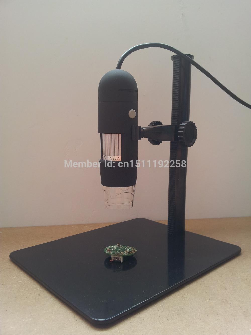 5x-500x hd 디지털 av tv 비디오 현미경 내시경 카메라 세트 w 8 led 조명 illuminator 및 높이 조절 스탠드 5tvd