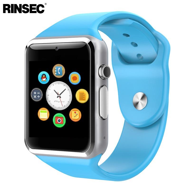 [해외]Rinsec A1 Smart Watch 성인용 시계 지원 SIM 카드 TF 카드 측정기 확인 및 응답 전화 음악 /Rinsec A1 Smart Watch Adult Clock Support SIM Card TF CardPassometer  Make and Ans