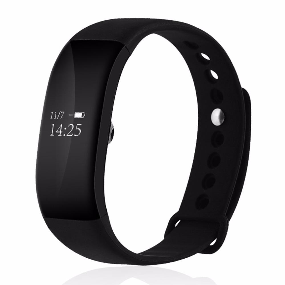 [해외]블루투스 4.0 전문 IP67 방수 손목 밴드 심장 박동 스마트 팔찌 시계 손목 밴드 보수계 칼로리 수면/Bluetooth 4.0 Professional IP67 Waterproof  Wristband Heart Rate Smart Bracelet Watch W