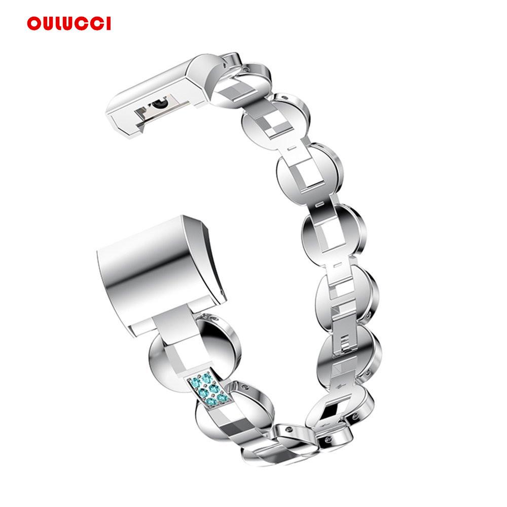 [해외]시계 밴드 Fitbit 충전 2, 교체 금속 팔찌 조절 Fitbit 충전 2 BandsRhinestone/Watch Band For Fitbit Charge 2, Replacement Metal Bracelet Adjustable Fitbit charge 2 B