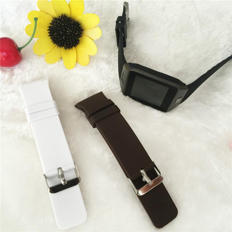 [해외]DZ09 스마트 시계 원래 실리콘 교체 밴드 dz 09 용 팔찌 스마트 시계 줄/DZ09 Smart Watch Original Silicone Replacement Band For dz 09 Wristband smart watch straps