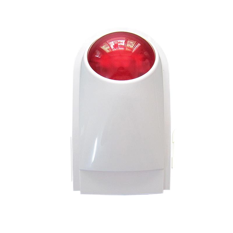 [해외]GZGMET 와이어 DC 12V 120dB 플래시 STROBE SIREN IP65 ABS MATERIAL 경보 시스템 SPEAKER/GZGMET wire DC 12V 120dB flash STROBE SIREN  IP65 ABS MATERIAL alarm sys