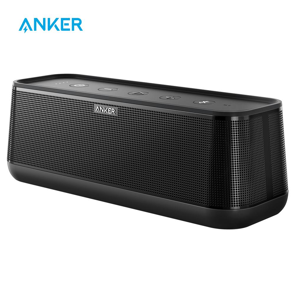 [해외]Anker SoundCore Pro 25W 프리미엄 휴대용 무선 블루투스 스피커 고급베이스 및 고화질 사운드 4 드라이버/Anker SoundCore Pro 25W Premium Portable Wireless Bluetooth SpeakerSuperior Ba