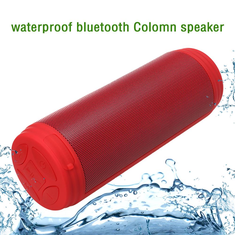 [해외]Zonyee Bluetooth 스피커는 10W 큰 힘 휴대용 무선 altavoz 스피커 FM 라디오 TF 옥외 란 방수 스피커를 강박했다/Zonyee Bluetooth Speakers Upgrated 10W Big Power Portable wireless al