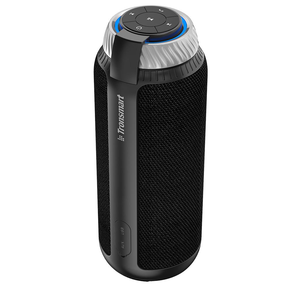 [해외]Tronsmart 요소 T6 25W DSP 휴대용 블루투스 Speaker360 스테레오 사운드 깊은베이스 옥외 휴대용 미니 스피커 전화에 대 한/Tronsmart Element T6 25W DSP Portable Bluetooth Speaker360 Stereo