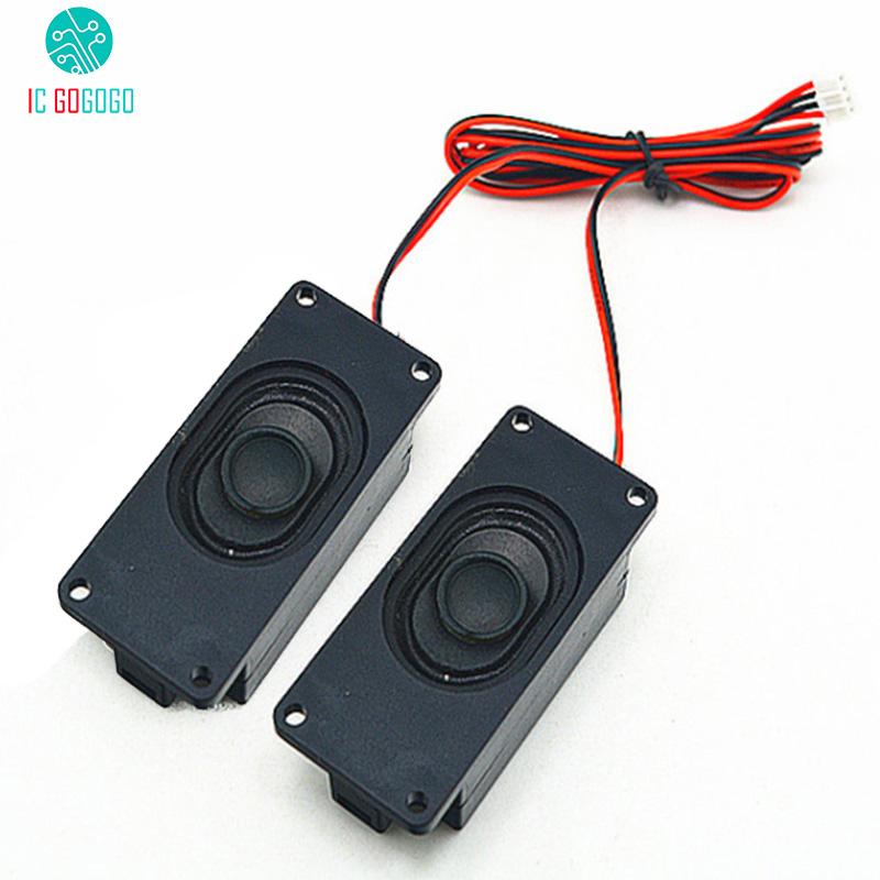 [해외]NoEnName_Null V29 V59 V56 3070 4 옴 5W 패시브 스피커 소형 라우드 스피커 범용 LCD 드라이버 보드 앰프 오디오/NoEnName_Null 2pcs for V29 V59 V56 3070 4 Ohm 5W Passive Speaker Sm