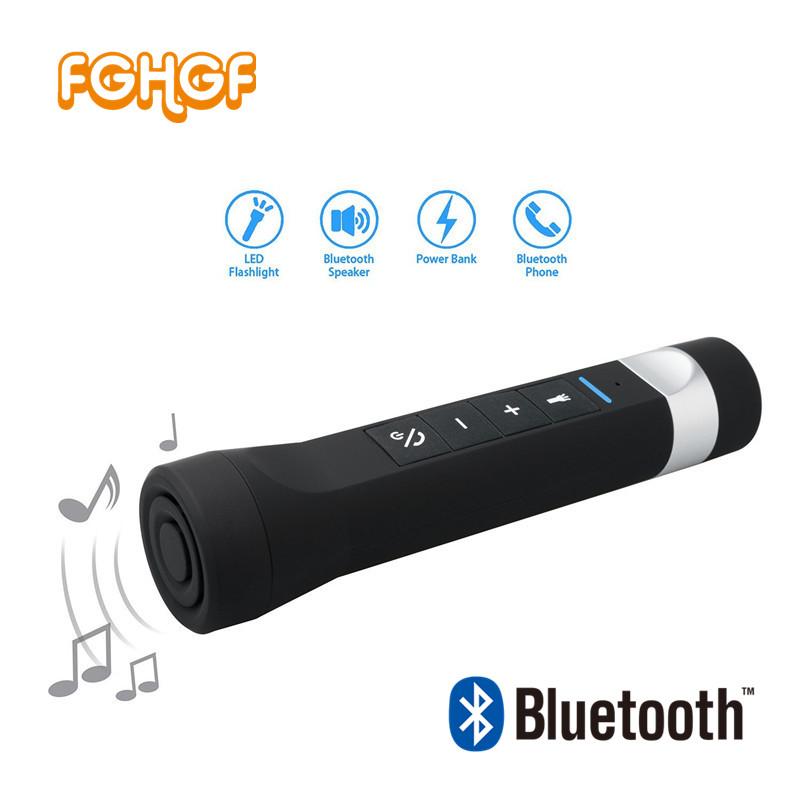 [해외]FGHGF 휴대용 야외 블루투스 자전거 자전거 스피커 LED 토치, 전화 충전, MP3 플레이어, SOS 조명, FM 라디오 3 in 1 스피커/FGHGF Portable Outdoor Bluetooth Bicycle Bike Speaker LED Torch,