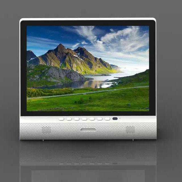 [해외]15 인치 LCD TV 블루투스 스피커 USB HD 1080P으로 vedio이 가능한 케이블 TV 방송 VGA의 AV 입력 컴퓨터 모니터 플레이/15 Inches LCD TV Bluetooth Speaker USB HD 1080P Vedio Play Accept