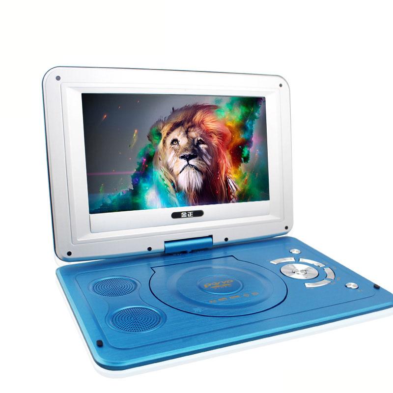 [해외]14 인치 HD 휴대용 회전 스크린 스마트 TV EVD DVD 플레이어 미니 텔레비전/14 Inch HD Portable Rotating Screen Smart tv EVD DVD Player Mini television
