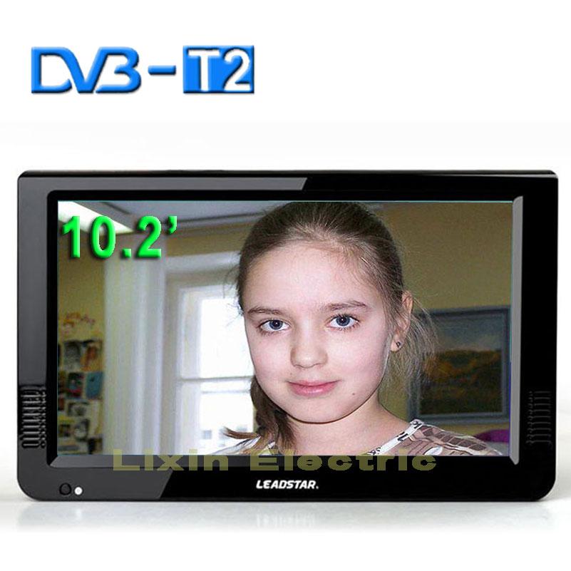 [해외]2016 새로운 HD TV 10.2 인치 디지털 및 아날로그 TV 수신기와 TF 카드 및 USB 오디오 및 비디오  휴대용 DVB-T2 텔레비전/2016 New HD TV 10.2 Inch Digital And Analog TV Receiver And TF Ca