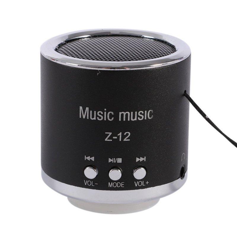 [해외]휴대용 Z-12 스피커 서브 우퍼 FM 라디오 USB 마이크로 SD TF 카드 MP3 플레이어 뮤직 박스 춤/Portable Z-12 Speaker Subwoofer FM Radio USB Micro SD TF Card MP3 Player Dancing Musi