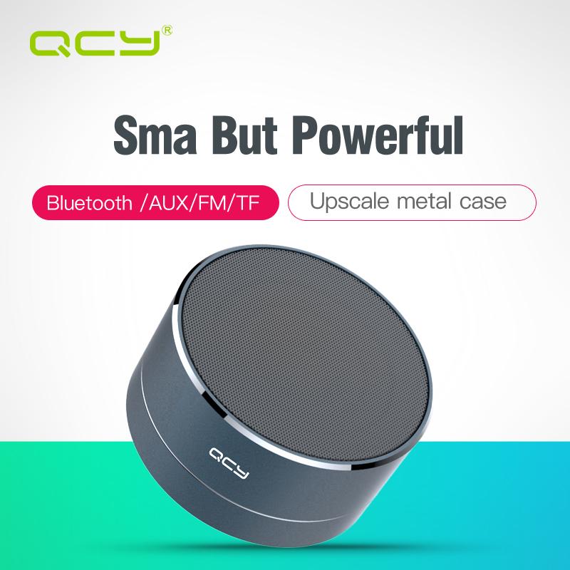 [해외]QCY A10 간단하게 무선 Bluetooth 스피커 옥외 최소한 예술 알루미늄 양극 지원 TF 카드 마이크 Iphone를 위해? ? ???? ??/QCY A10 Simply Wireless Bluetooth Speaker Outdoor Minimal Art A