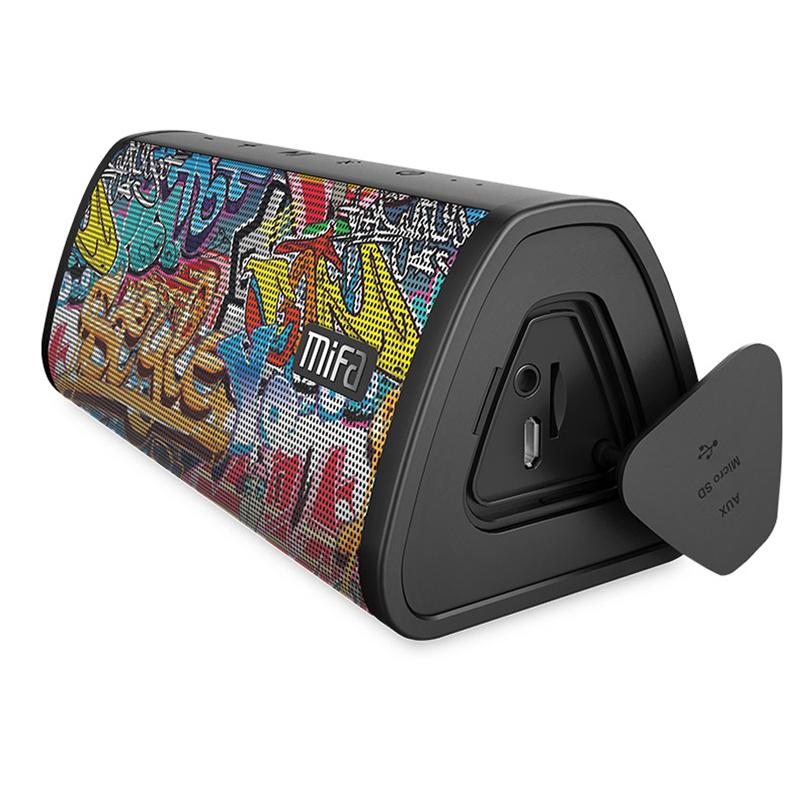 [해외]Mifa 휴대용 블루투스 스피커 휴대용 무선 확성기 소리 시스템 10W 스테레오 음악 서라운드 방수 야외 스피커/Mifa Portable Bluetooth speaker Portable Wireless Loudspeaker Sound System 10W ster