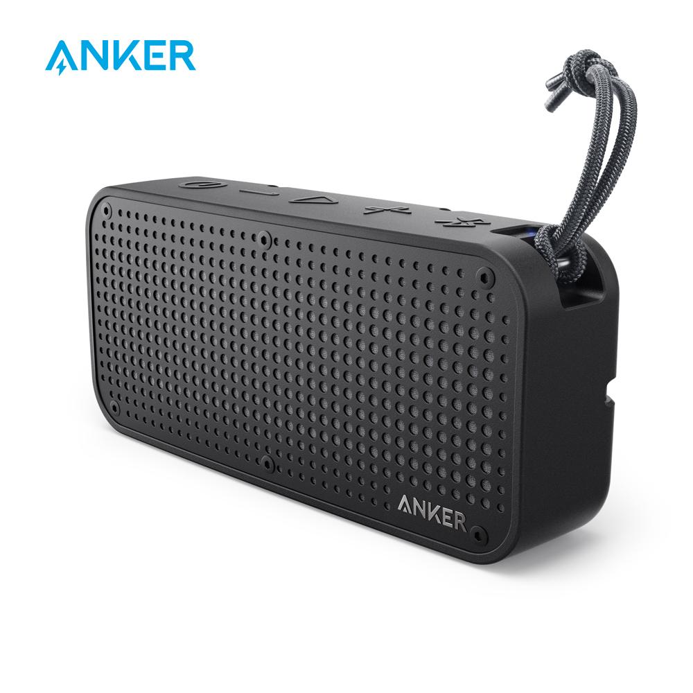 [해외]Anker SoundCore Sport XL 휴대용 블루투스 스피커, 16W 오디오 출력, 2 개의 서브 우퍼, 66ft 블루투스 범위, 15H  시간, 내장 마이크/Anker SoundCore Sport XL Portable Bluetooth Speaker,1