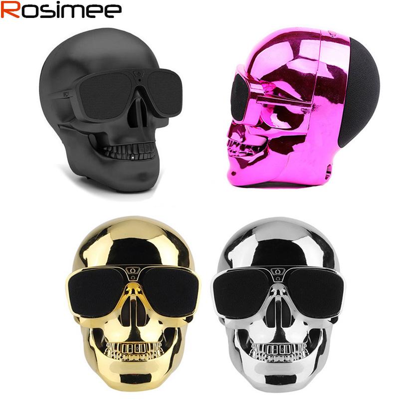 [해외]플라스틱 금속 해골 모양 무선 블루투스 스피커 선 글래스 NFC 해골 스피커 모바일 서브 우퍼 다용도 스피커 쿨/Plastic Metallic Skull Shape Wireless Bluetooth Speaker Sunglass NFC Skull Speaker