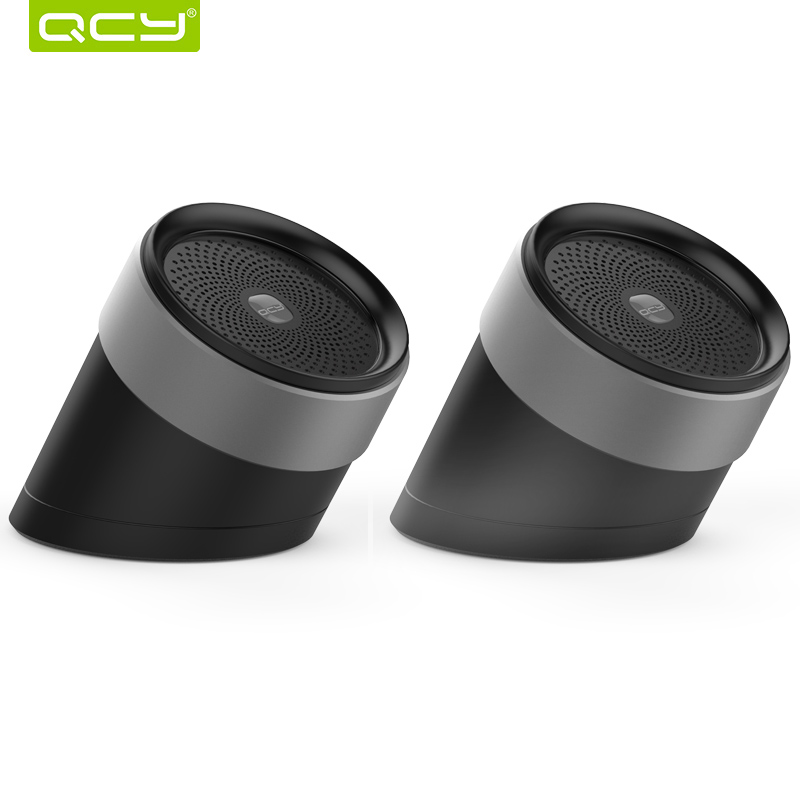 [해외]QCY QQ1000 블루투스 스피커 3D 스테레오 메탈 라우드 스피커 휴대용 무선 스피커 사운드 시스템 음악 오디오 플레이어 MIIC/QCY QQ1000 bluetooth speakers 3D stereo metal loudspeaker portable wire