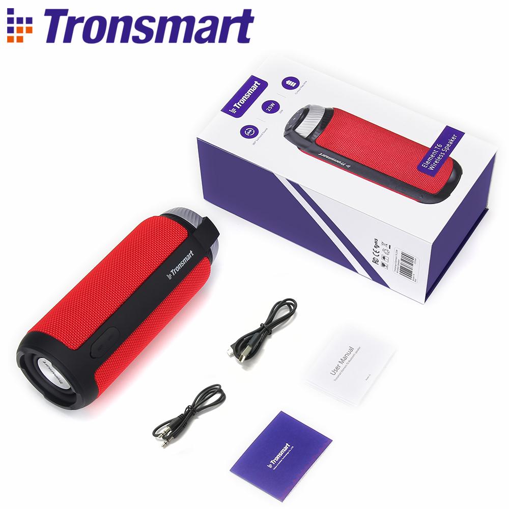 [해외]원래 Tronsmart 요소 T6 블루투스 4.1 스피커 무선 사운드 바 오디오 수신기 USB AUX 음악 MP3 플레이어 미니 스피커/Original Tronsmart Element T6 Bluetooth 4.1 Speaker Wireless Soundbar