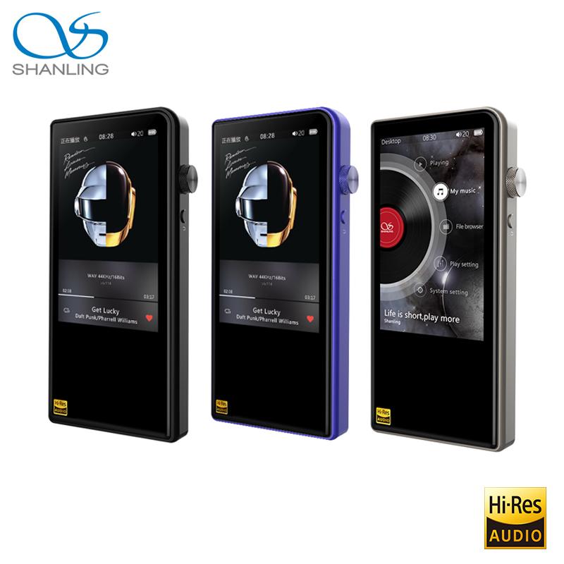 [해외]Shanling M3S 블루투스 4.1 Apt-X 무손실 휴대용 음악 MP3 플레이어 레티나 DOP DSD256 고해상도 오디오 균형 PO / LO Hiby Link/Shanling M3S Bluetooth 4.1 Apt-X Lossless Portable Mu