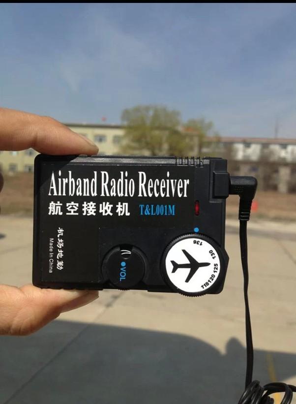 [해외]공항 지상 을118MHz-136MHz 공기 밴드 라디오 수신기 항공 밴드 수신기/118MHz-136MHz air band radio receiver aviation band receiver for Airport Ground free ship