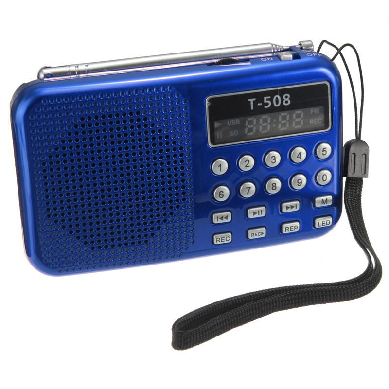 [해외]핫 세일는 우수한 품질 미니 휴대용 50mm 내부 자기 T508은 스테레오 FM 라디오 스피커 USB의 TF 카드 MP3 음악 플레이어를 LED/Hot sales Excellent Quality Mini Portable 50mm Internal Magnetic