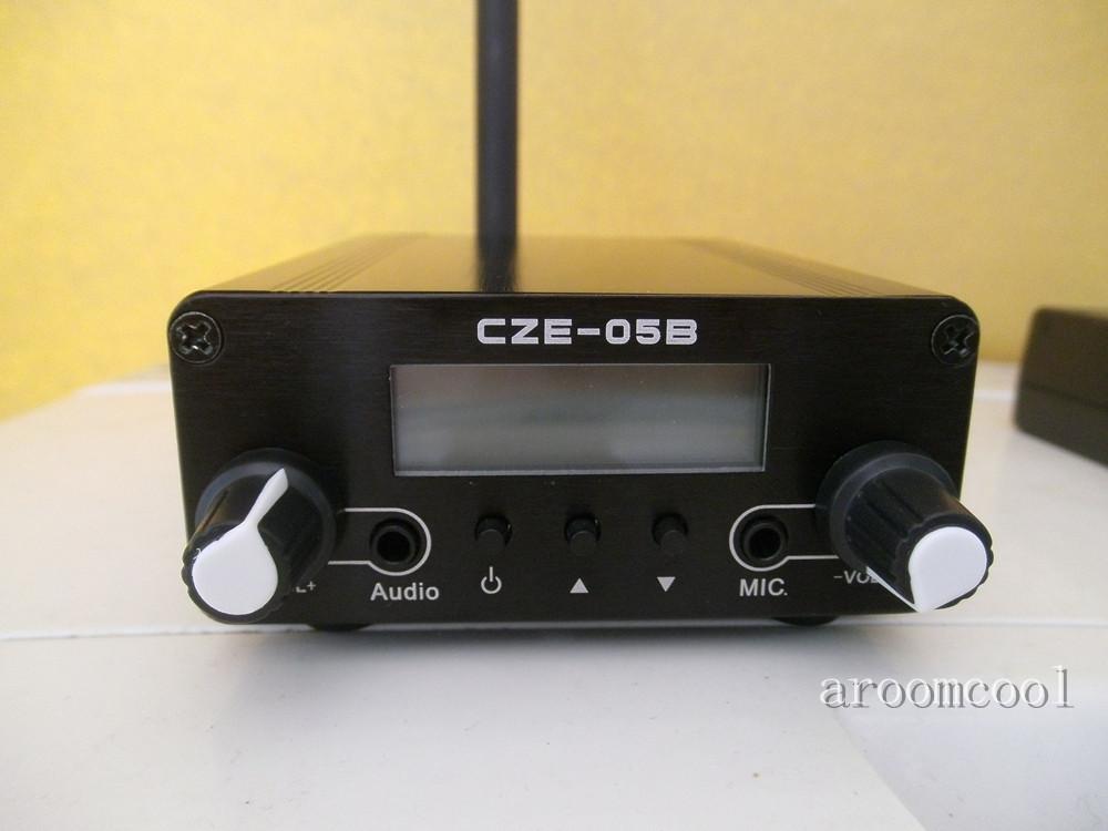 [해외]0.5W CZH-05B 스테레오 PLL FM 라디오 방송국 송신기 + 안테나 + 전원 어댑터/0.5W CZH-05B Stereo PLL FM Radio Broadcast Station Transmitter + Antenna +Power adapter