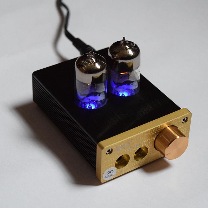 [해외]HIFI 6J9 진공관 헤드폰 증폭기 Portable Headphone Amplifier/HIFI 6J9 Vacuum Tube Headphone Amplifier Portable Headphone Amplifier