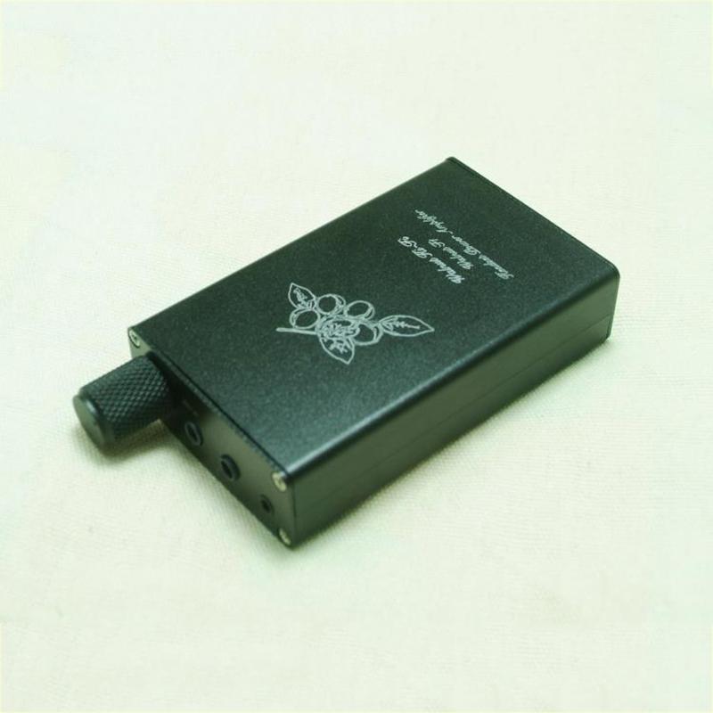 [해외]월넛 하이파이 F1 휴대용 헤드폰 앰프 오디오 파 일 증폭기 OPA2134 2.5mm 밸런스드 출력 옵션/Walnut HiFi F1 Portable Headphone Amplifier Audiophile Amplifier OPA2134 Optional 2.5mm