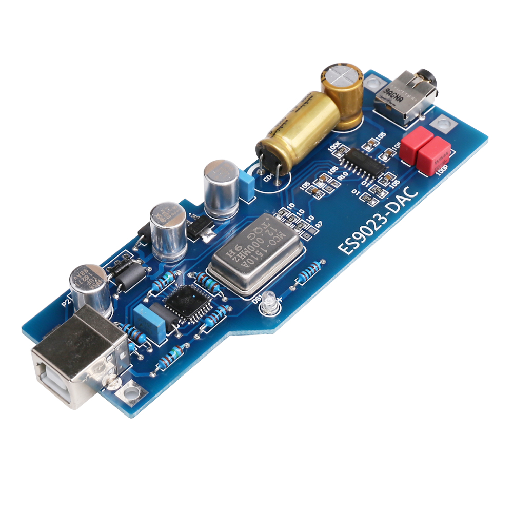 [해외]K.GUSS A2 PCM2706 + ES9023 발열 수준의 오디오 DAC 사운드 카드 디코더 완제품 OT 헤드폰 앰프 AMP 보드/K.GUSS A2 PCM2706 + ES9023 fever level audio DAC sound card decoder fini