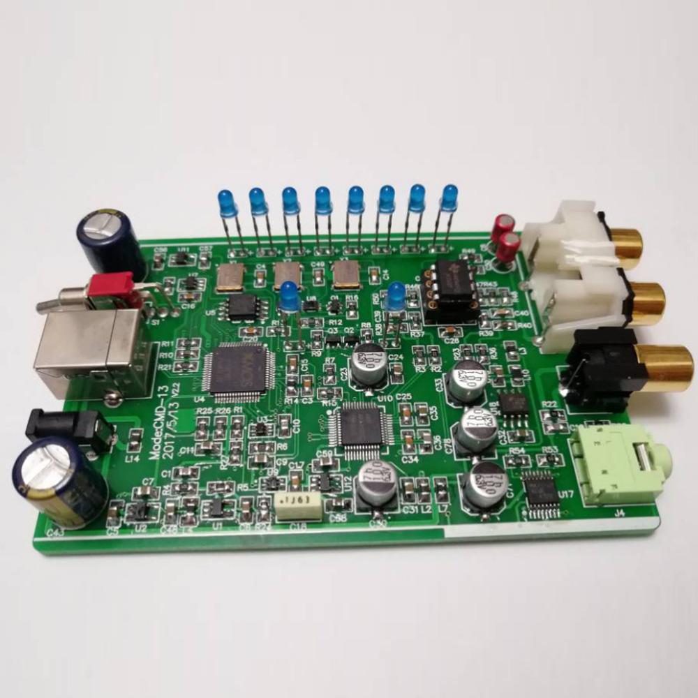 [해외]SAOMAI DAC AKM AK4490 칩 디지털 오디오 앰프 DAC 디코더 / 지원 DSD64-256 / PCM 32Bit -384k/SAOMAI  DAC AKM AK4490  Chip Digital Audio Amplifier DAC Decoder/ Supp