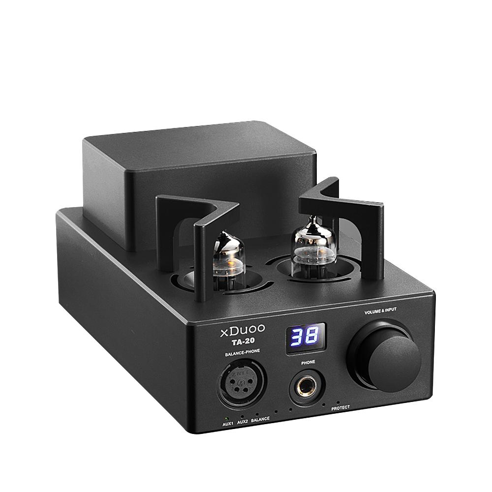 [해외]최신 원본 XDUOO TA-20 HIFI 고성능 밸런스드 클래식 12Au7 튜브 스테레오 오디오 헤드폰 AmplifierXLR AUX/Newest original XDUOO TA-20 HIFI High Performance Balanced Classical 12