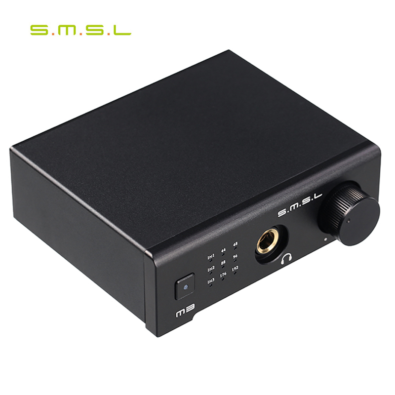 [해외]SMSL M3 USB AMP 다기능 광 동축 DAC 헤드폰 증폭기 휴대용 USB 구동 오디오 디코더 휴대용 DAC 변환기/SMSL M3 USB AMP Multi-function Optical Coaxial DAC Headphone Amplifier Portabl