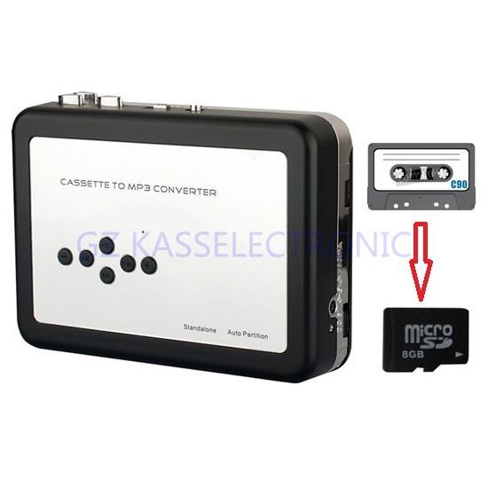 [해외]2015 새로운 카세트 디지털 컨버터가 직접 SD TF 카드에 MP3에 카세트를 변환, 어떤 컴퓨터에 필요한 하지 않습니다/2015 New cassette digital converter convert cassette to MP3 directly into SD