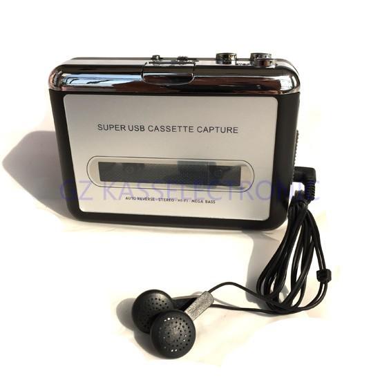 [해외]2015 새로운 grabadora 윈도우 MAC 리눅스 컴퓨터를 통해 MP3 아날로그 테이프 카세트를 변환  OS/2015 new grabadora convert analog tape cassette to mp3 through computer for Window