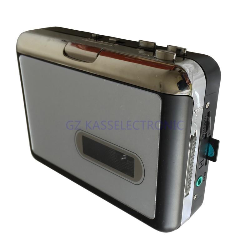 [해외]2015 새로운 오디오 카세트 레코더 플레이어가 직접 TF 카드에 MP3에 카세트 테이프를 변환없이 PC를 요구, /2015 new audio cassette recorder player convert cassette tape to mp3 into TF Card