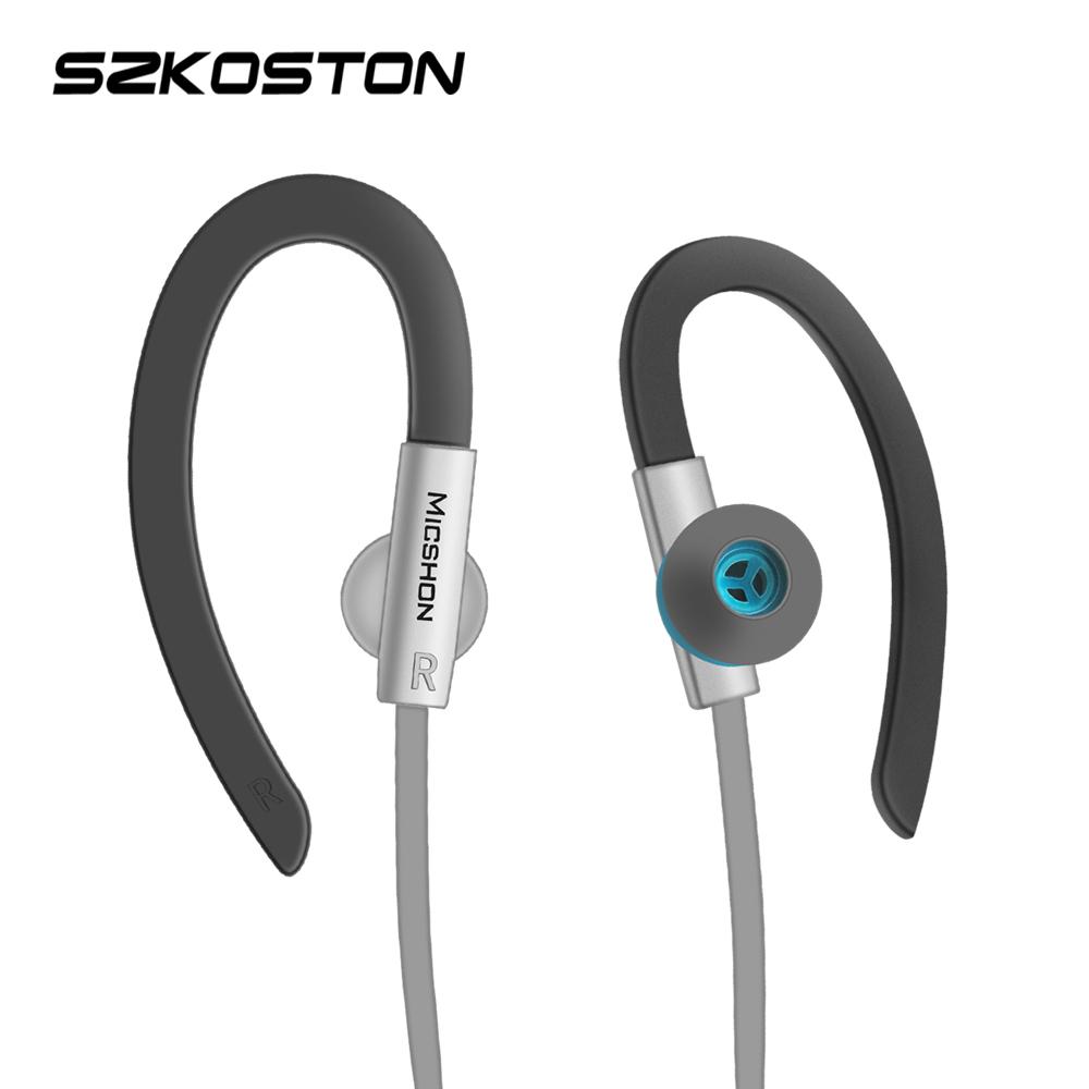 스포츠 음악 헤드폰 3.5MM 잭 이어폰베이스 소음 실행 헤드셋 xiaomi 삼성 Mp3
