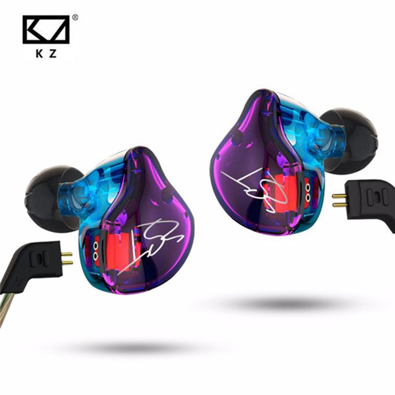 [해외]기존 KZ ZST 1DD + 1BA 하이브리드 이어폰, 밸런스드 아마추어 HIFI DJ Monito, 스포츠 이어폰, 이어폰, 이어폰, 이어 버드/Original KZ ZST 1DD+1BA Hybrid In Ear Earphone Balanced Armature